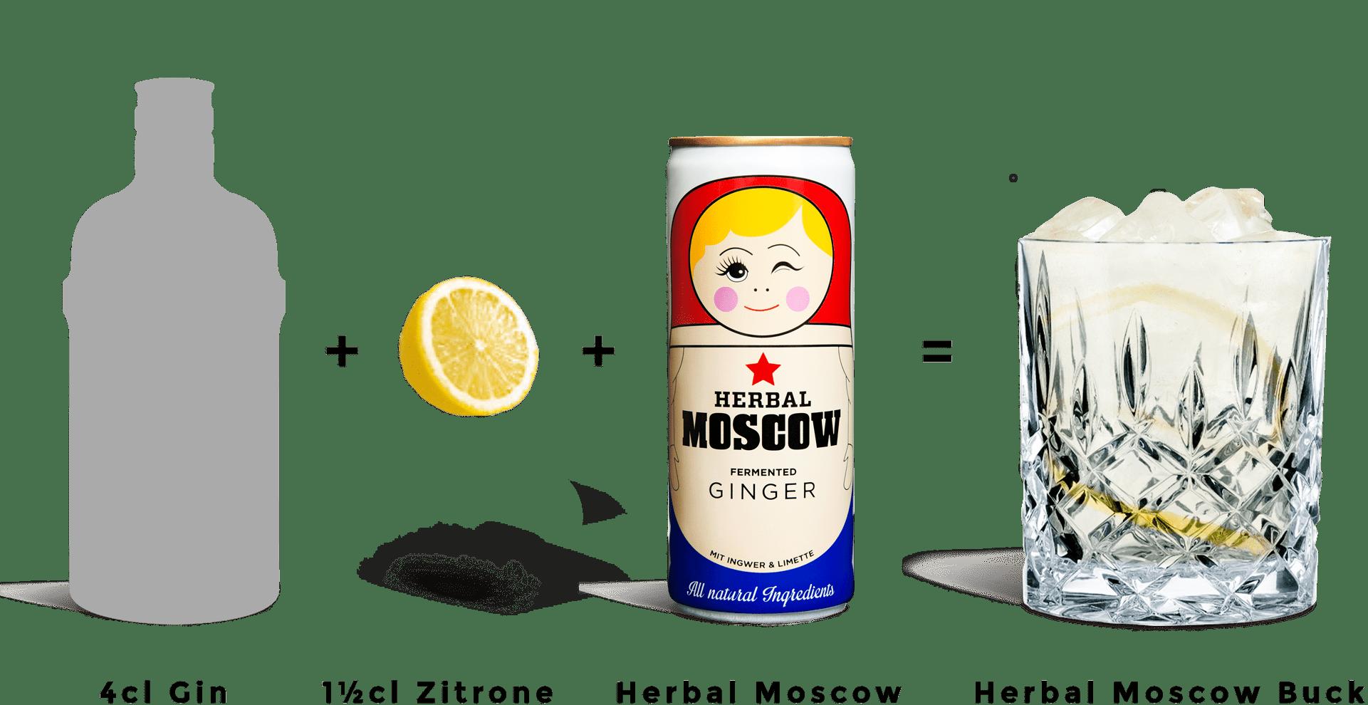 Herbal Moscow Buck Brand Garage