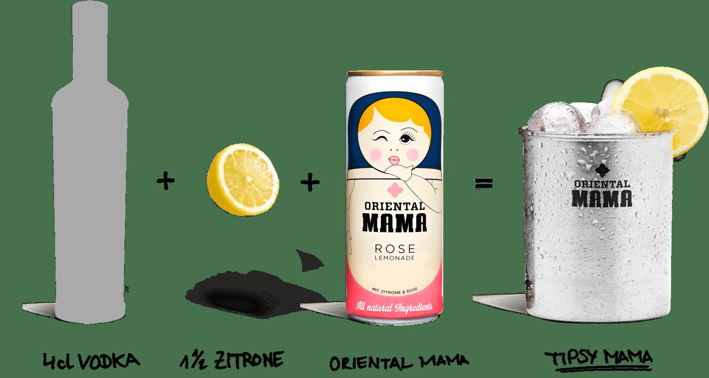 Tipsy Mama Oriental Mama
