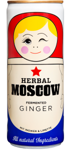 Herbal Moscow Lemonade Brand Garage